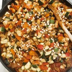 Wellness Ratatouille mit gegrilltem Gemüse…